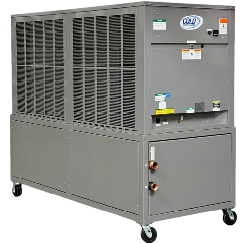 A 20 ton cooling-capacity chiller from Cold Shot Coolers