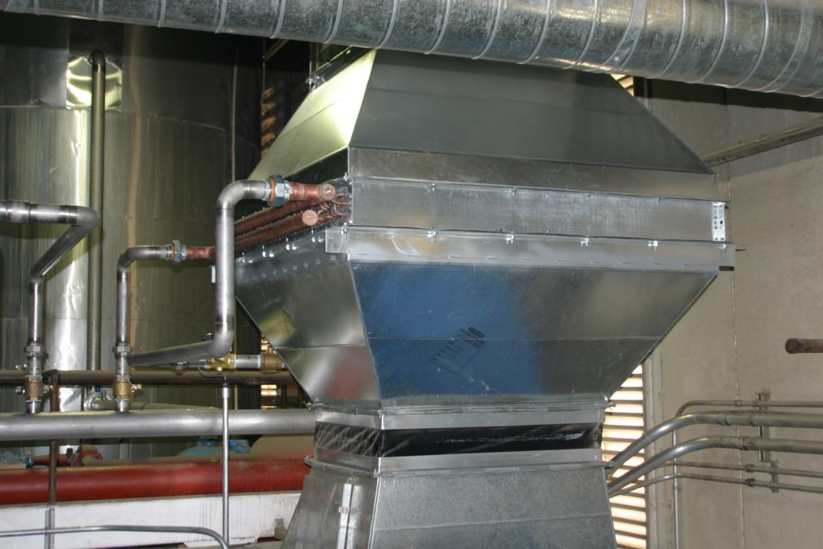 Air Heat Exchanger ~ Nestlé beats the heat innovative air to water