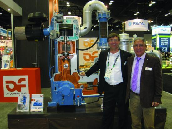 AF Compressors at NPE 2018
