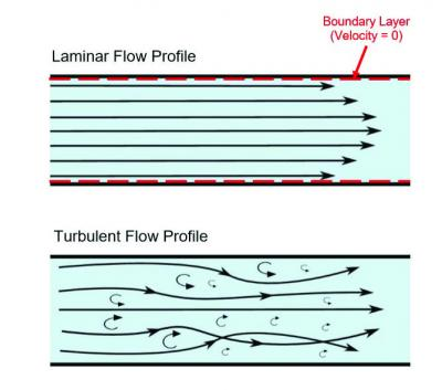 Laminar Flow Profile