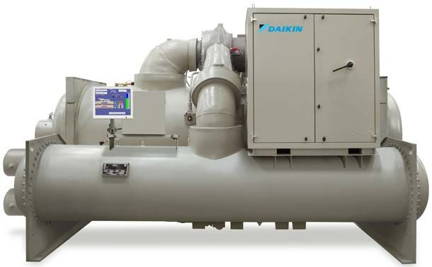 Figure 3: Daikin MagnitudeTM Magnetic Bearing Centrifugal Chiller, Size 500 to 700 Tons