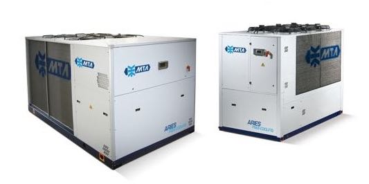 The MTA Aries Free-cooling Chiller Systems