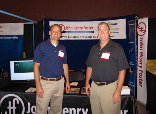 Brent Christensen and Bryan Crane from John Henry Foster.