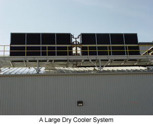 A Large Dry Cooler System
