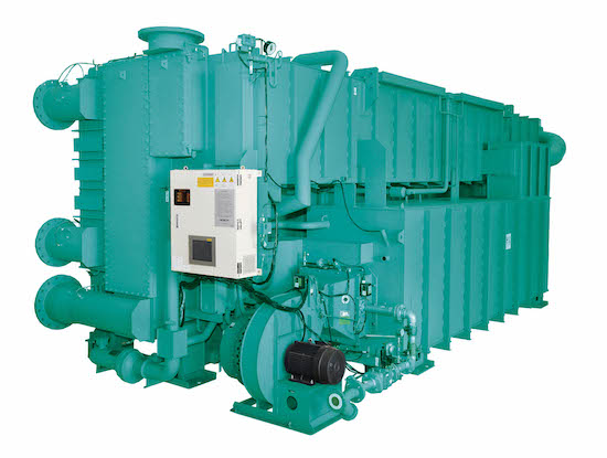 YORK double-effect, direct fired absorption chiller